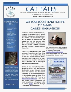 2014 C.A.R.E.S. Summer Fall Newsletter