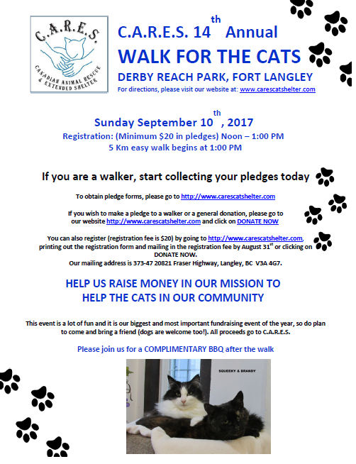 Walk for the Cats